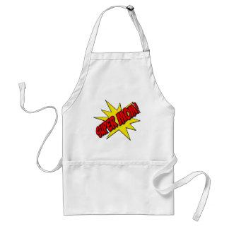 super mom adult apron