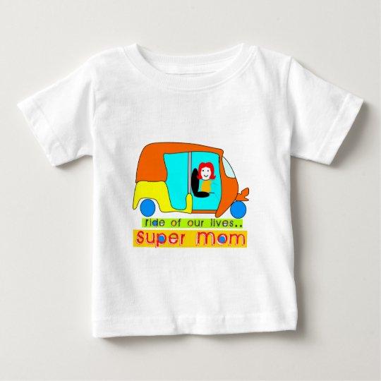 Super Mom Baby T-Shirt