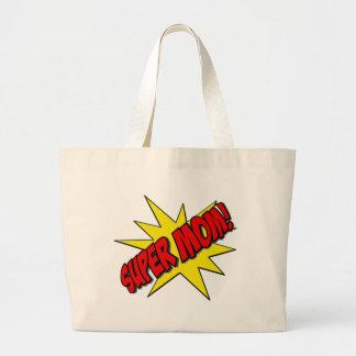 super mom canvas bags