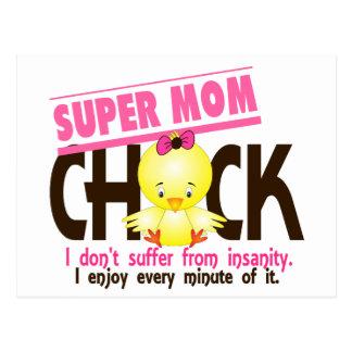 Super Mom Chick 1 Postcard