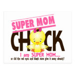 Super Mom Chick 2 Postcard
