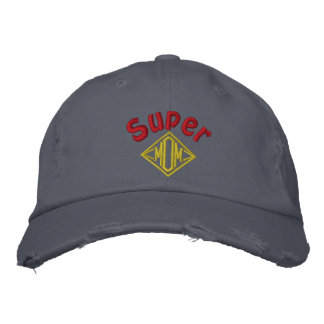 Super Mom - Customized Embroidered Baseball Cap