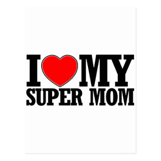 SUPER mom designs Postcard