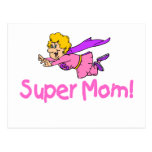 Super Mom (Flying) Post Cards