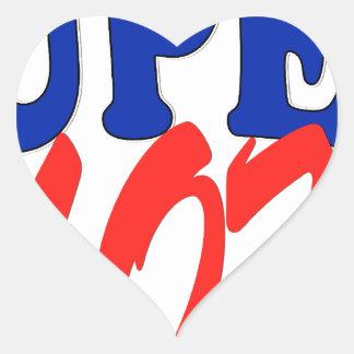 SUPER MOM HEART STICKER
