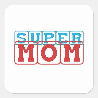 Super Mom II Square Sticker