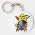 Super Mom Keychains
