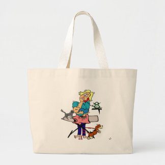 Super Mom Large Tote Bag