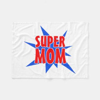 Super Mom Mother's Day Fleece Blanket