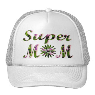 SUPER MOM Mother's Day Gifts Trucker Hats