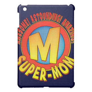 Super-Mom Mother's Day iPad Case