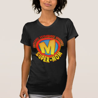 Super Mom Mother's Day Ladies T-Shirt