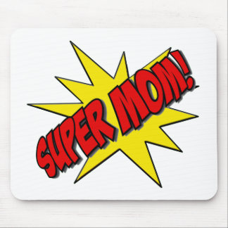 super mom mouse pad