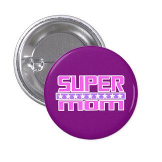 Super Mom Pinback Button