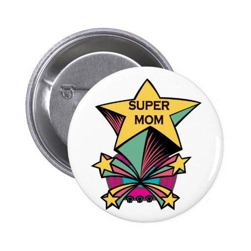 Super Mom Pins