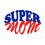 SUPER MOM POST CARDS