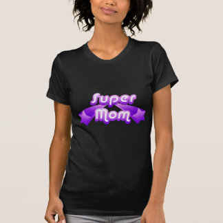 Super Mom Purple T-shirt