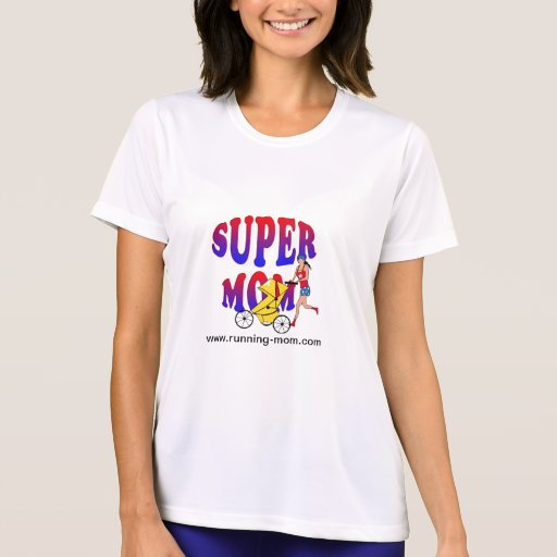 Super Mom - Running Shirt