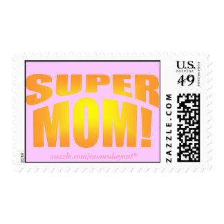 Super Mom! Stamps