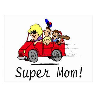 Super Mom (Van) Postcard