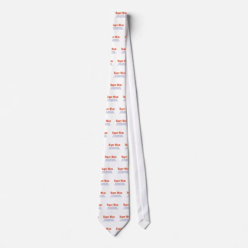 Super Mom with super powers t-shirts and gifts. Tie