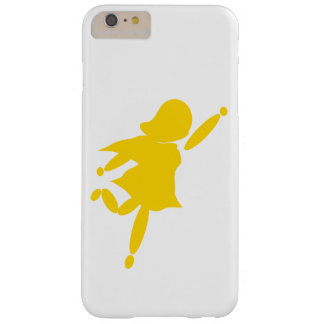 Super Mom Yellow iPhone 6/6s Plus, Barely There Barely There iPhone 6 Plus Case