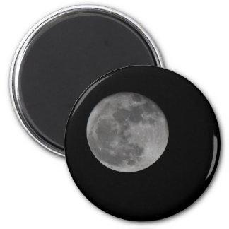 Super Moon 2 Inch Round Magnet