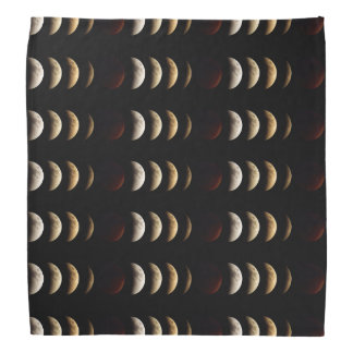 Super Moon, Blood Moon, Lunar Eclipse, 2015 Bandana