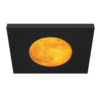 Super Moon Stretched Canvas Print