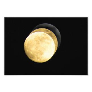 Super Moon HD Photo Art