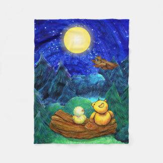 Super moon night blanket
