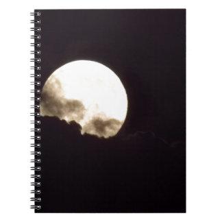 Super Moon Note Book