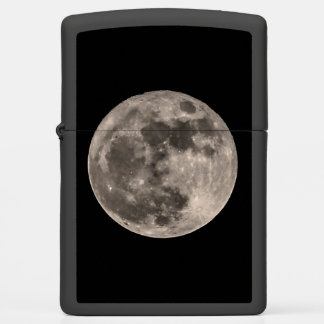 Super Moon November 2016 Photo Print Image Zippo Lighter