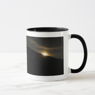 Super Moon over Washington Mountain Mug