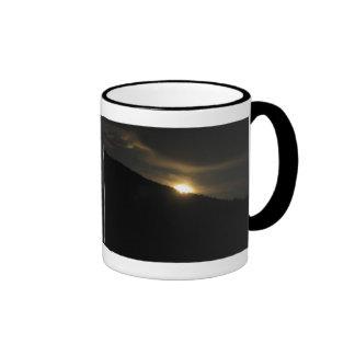 Super Moon over Washington Mountain Coffee Mug