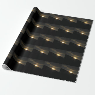 Super Moon over Washington Mountain Wrapping Paper
