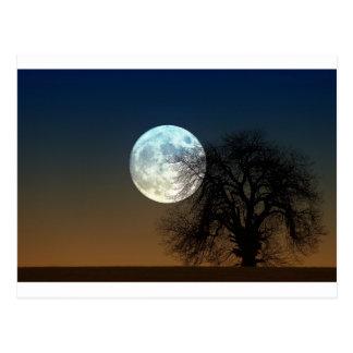 Super moon postcard
