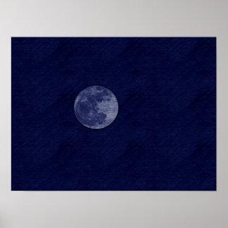 Super Moon Posters