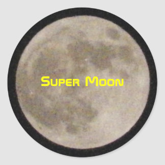 Super Moon Stickers