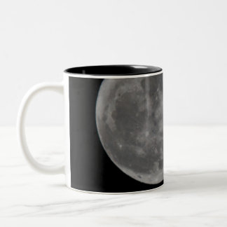 Super Moon Two-Tone Coffee Mug