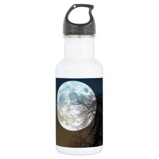 Super moon water bottle