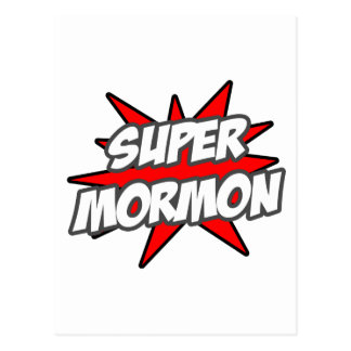 Super Mormon Post Card