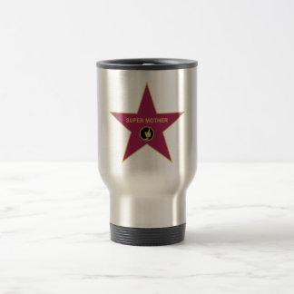 Super Mother - Hollywood Mother Star 15 Oz Stainless Steel Travel Mug