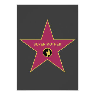 Super Mother - Hollywood Mother Star Card