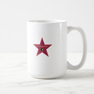 Super Mother - Hollywood Mother Star Classic White Coffee Mug