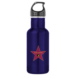 Super Mother - Hollywood Mother Star 18oz Water Bottle