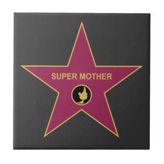 Super Mother - Hollywood Mother Star Tiles
