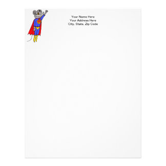 Super Mouse Letterhead