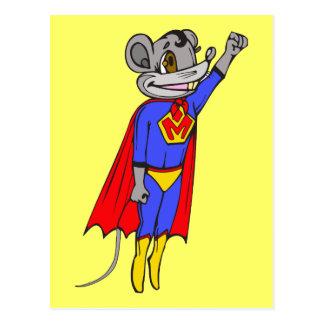 Super Mouse Postcard