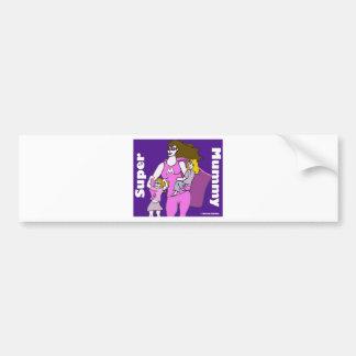 Super Mummy Bumper Sticker